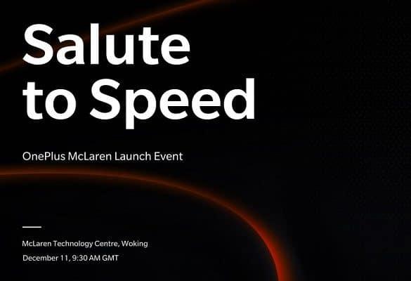 OnePlus McLean anuncio de lanzamiento