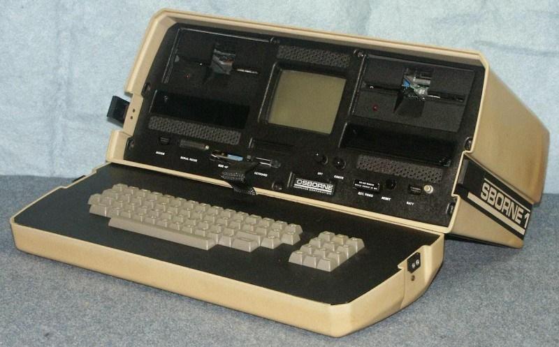 Osborn 1 primer ordenador portátil