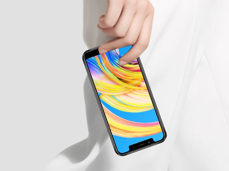Oukitel U18 pantalla iphone X