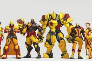 Overwatch League Skins Portada