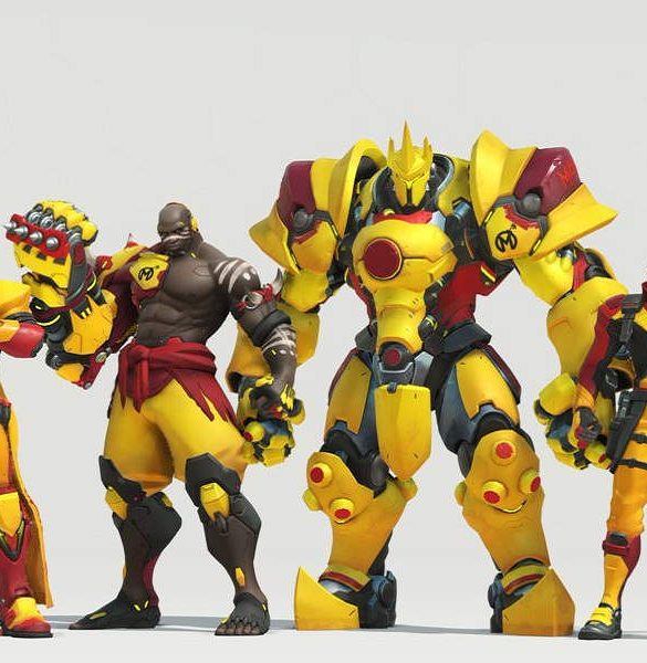 Overwatch League Skins Portada