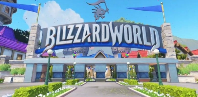 Overwatch Mapa BlizzardWorld