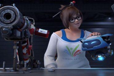 Overwatch Mei Portada