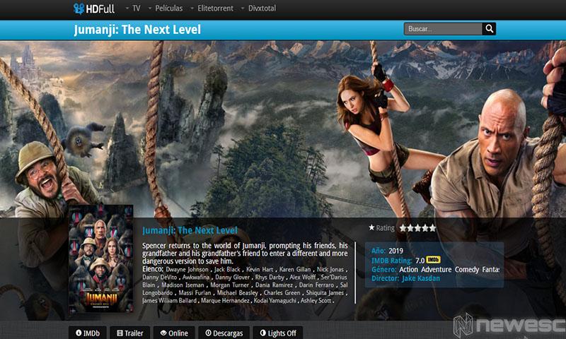 Páginas para Ver Películas HDfullTV