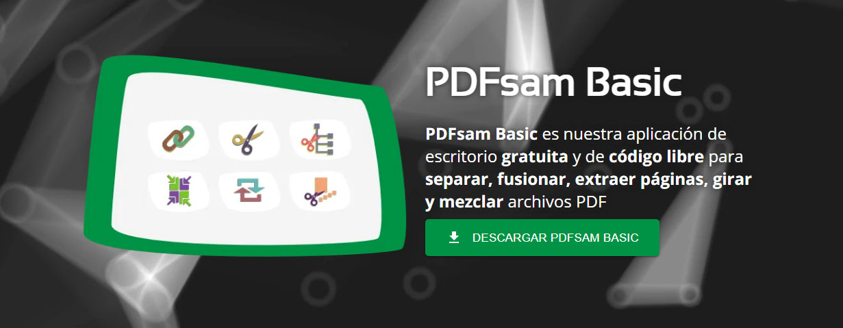 PDFSam Editar PDF