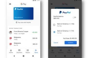 PayPal en Google Pay