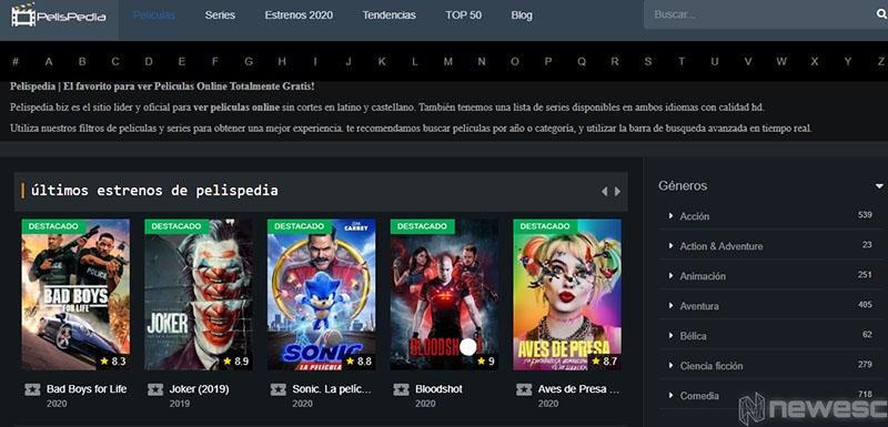 Películas Online PelisPedia