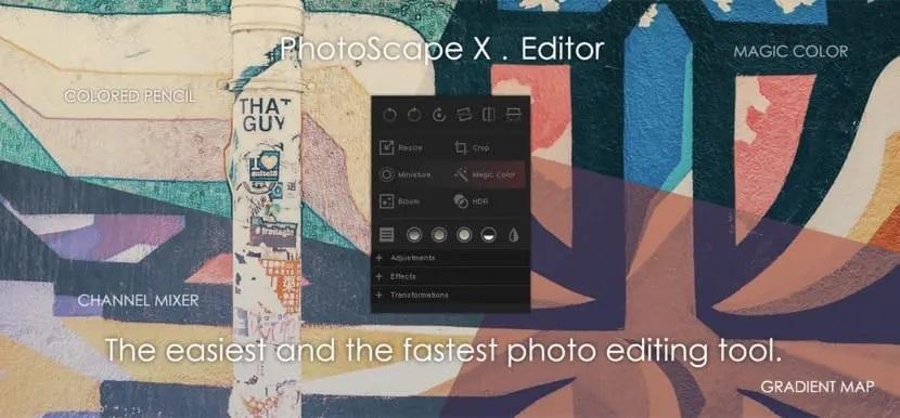 Photoscape X Editor de imágenes