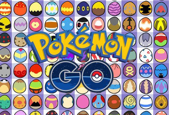 Pokémon GO Pascua huevos