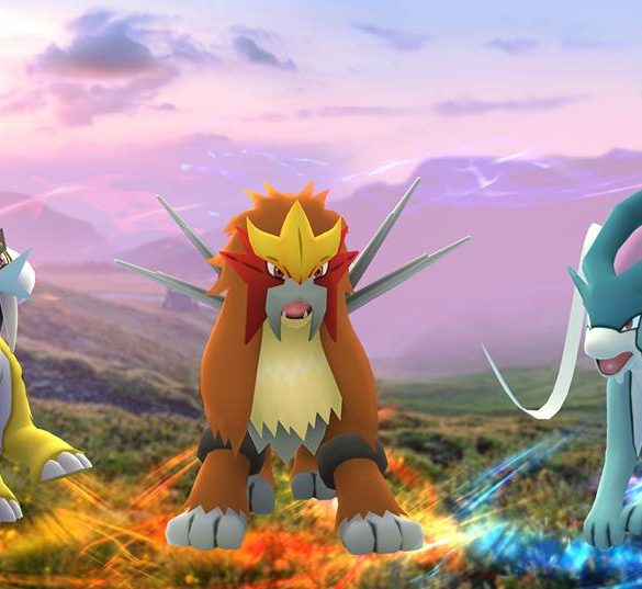Pokémon GO Raikou Entei Suicune