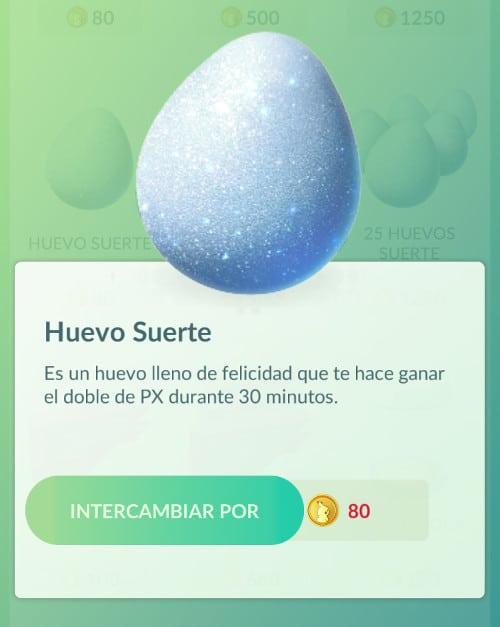 Pokémon Huevo de la suerte