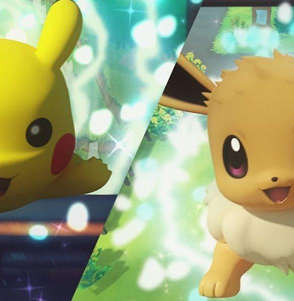 Pokémon Let's GO Pikachu y Eevee
