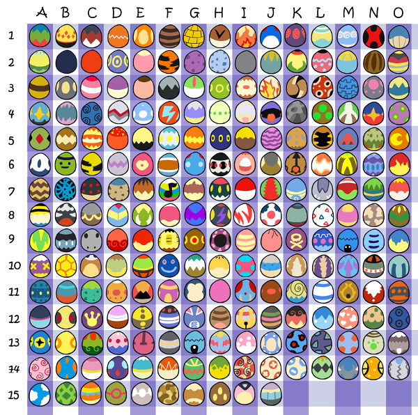 Pokémon huevos de pascua