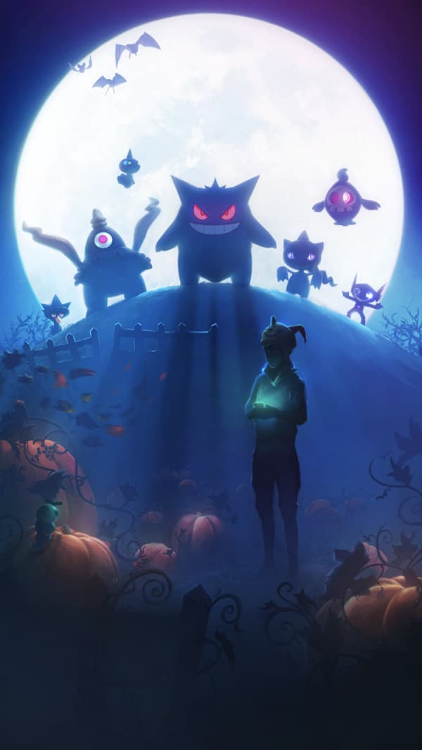 Pokemon Go Carga Haloween 17