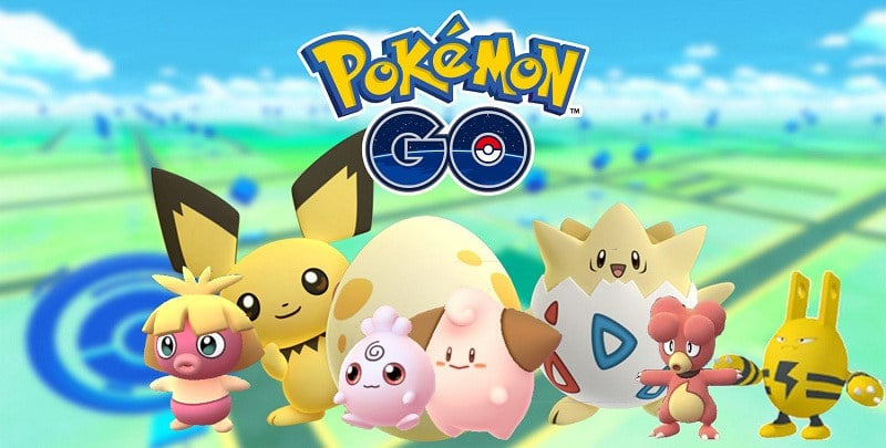 Pokemon Go Eclosion 2 gen