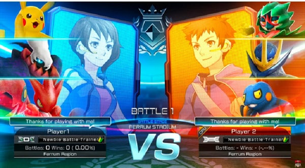 Pokken Tournament DX Online