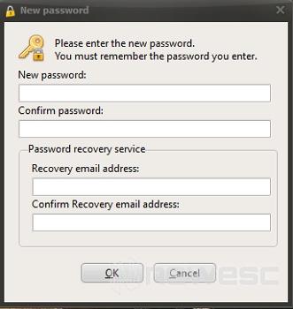 Poner contraseña en Secret Folder