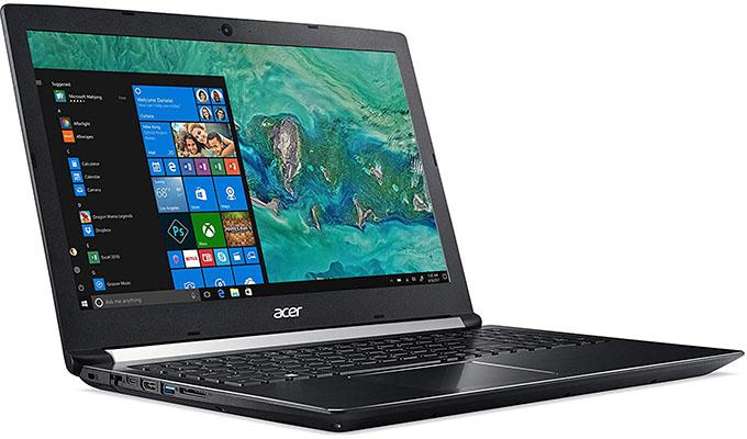 Portátil gamer Acer Aspire 7 A715-72G-75AN