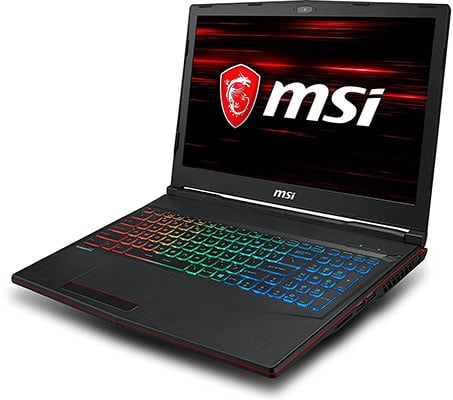 Portátiles Gamer - MSI GP63 8RE-041XES