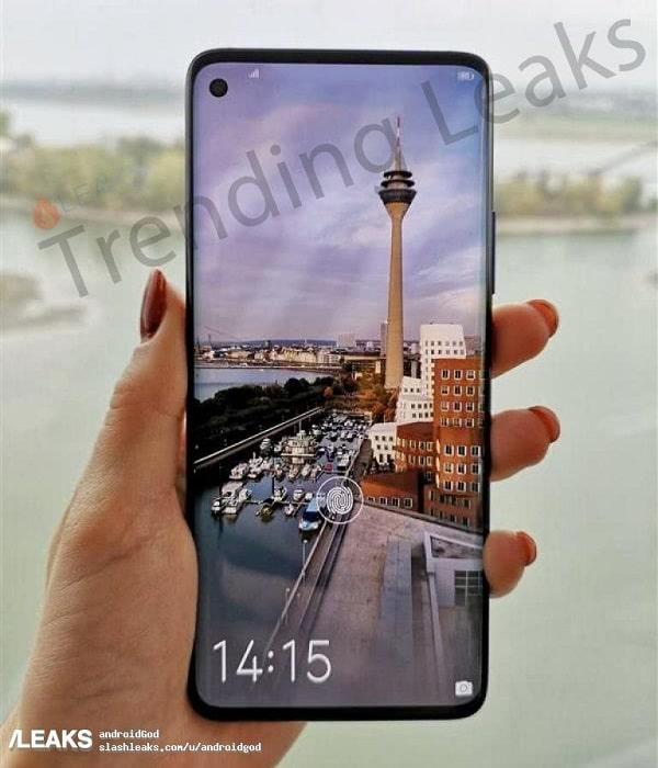 Posible diseño del Huawei Nova 4