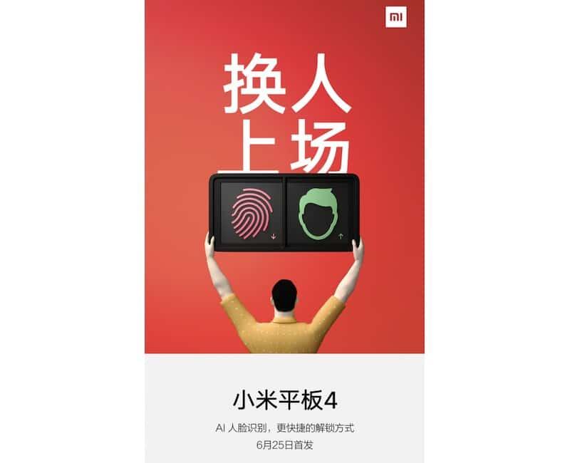Poster del Xiaomi Mi Pad 4