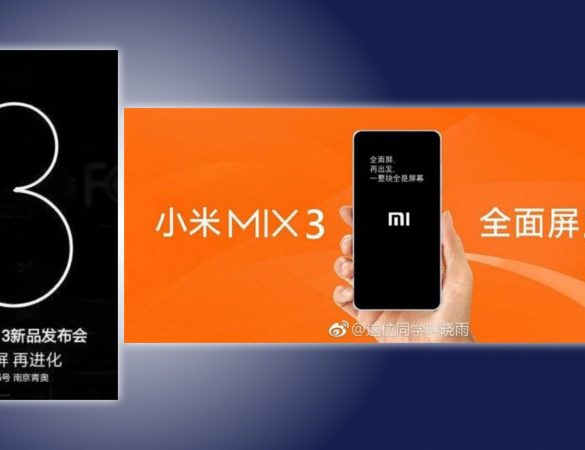 Posters Mi Mix 3
