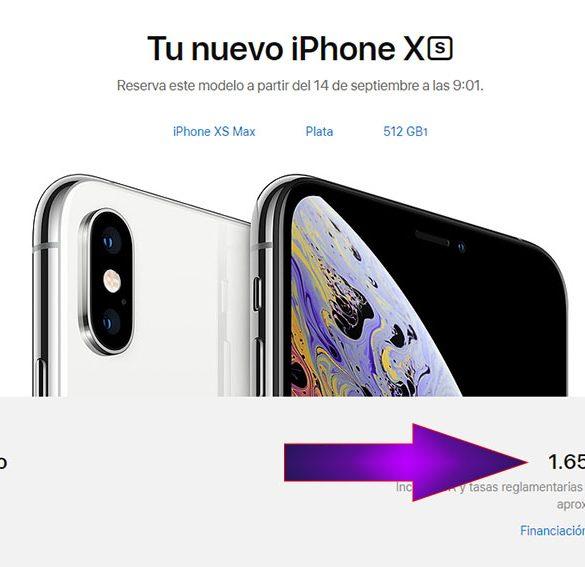Precio del iPhone más caro