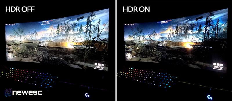 Predator X35 HDR compare 1