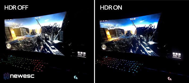 Predator X35 HDR compare 2