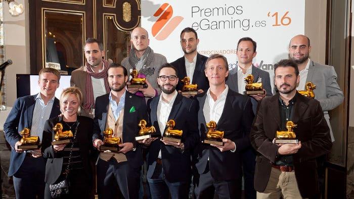 Premios EGaming España 2016 ganadores