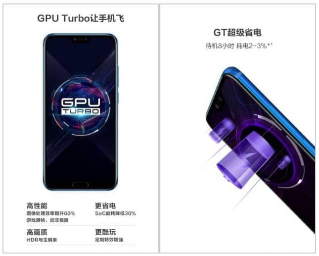 Presentación Honor 10 GT
