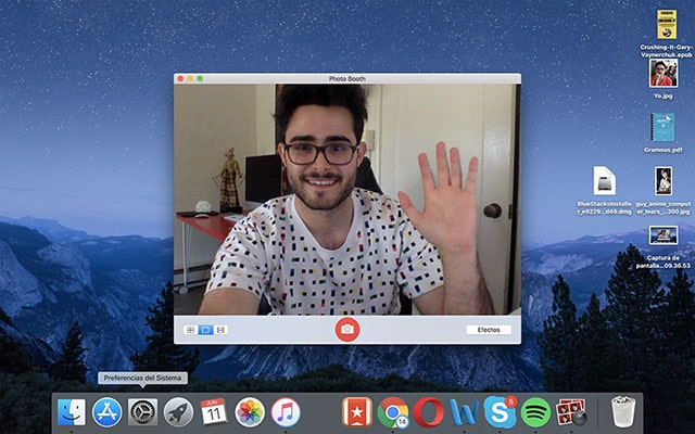 Probar la webcam en macOS