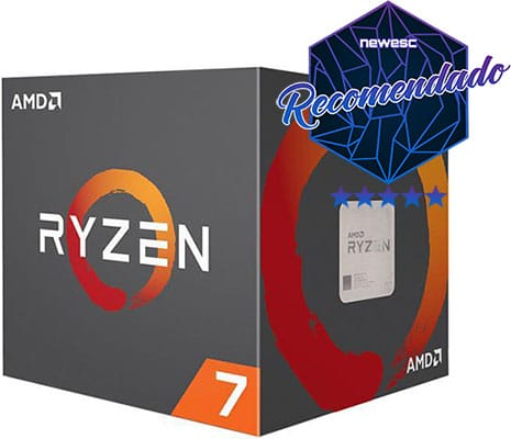 Procesador multitarea AMD RYZEN 7 1700