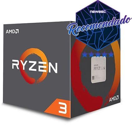 Procesador para multitarea AMD Ryzen 3 1300X