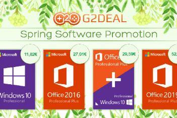 Promoción de G2Deal Marzo 2020