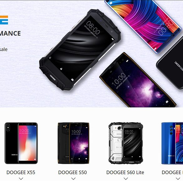 Promociones Doogee AliExpress