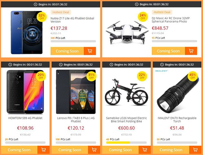 Promociones GearBest Prime day 2018