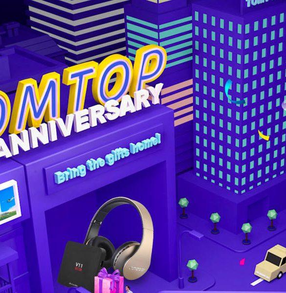 Promociones TomTop Aniversario 10