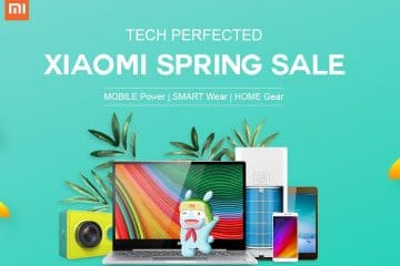 Promociones Xiaomi primavera