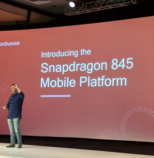 Qualcomm Snapdragon 845 Portada