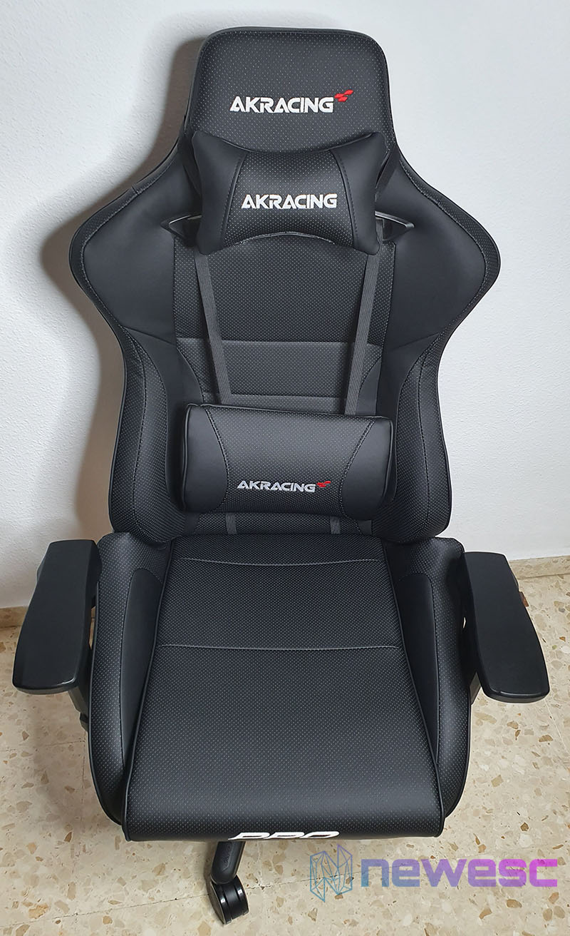REVIEW AKRACING MASTER SERIES PRO SILLA MONTADA