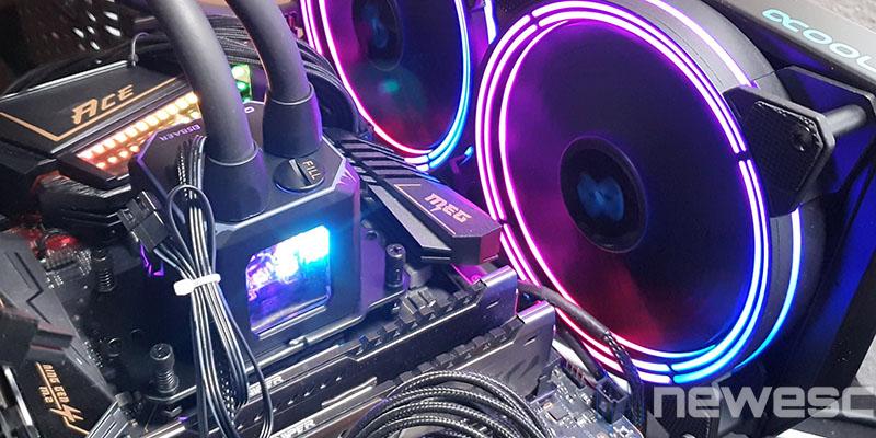 REVIEW ALPHACOOL EISBAER AURORA 280 CPU ILUMINACION RGB