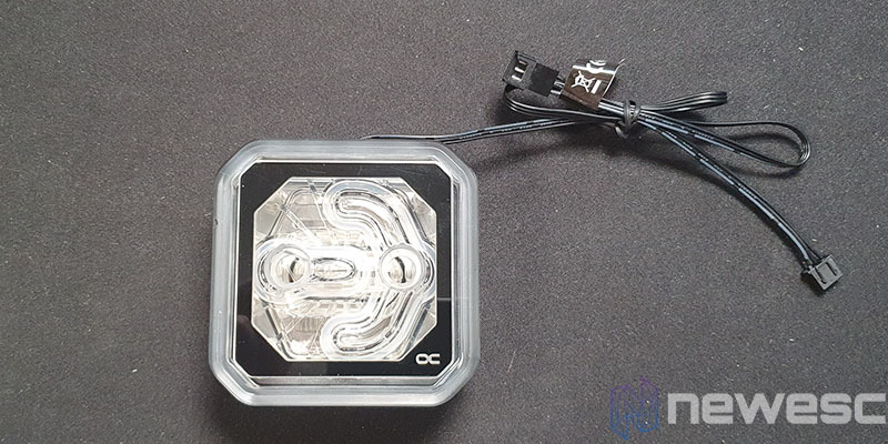 REVIEW ALPHACOOL EISBAER XPX AURORA RGB BLOQUE CPU