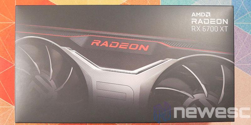 REVIEW AMD RADEON RX 6700 XT CAJA DELANTE