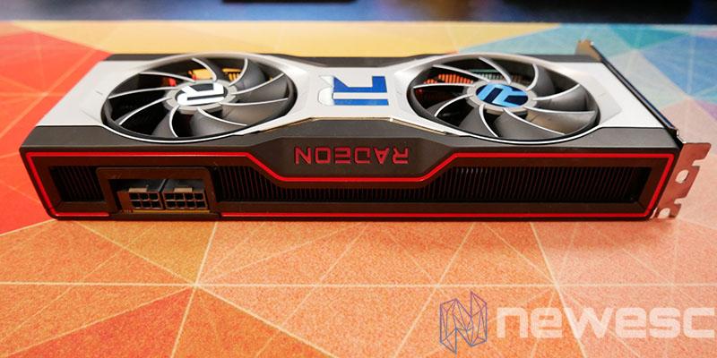 REVIEW AMD RADEON RX 6700 XT LATERAL TARJETA