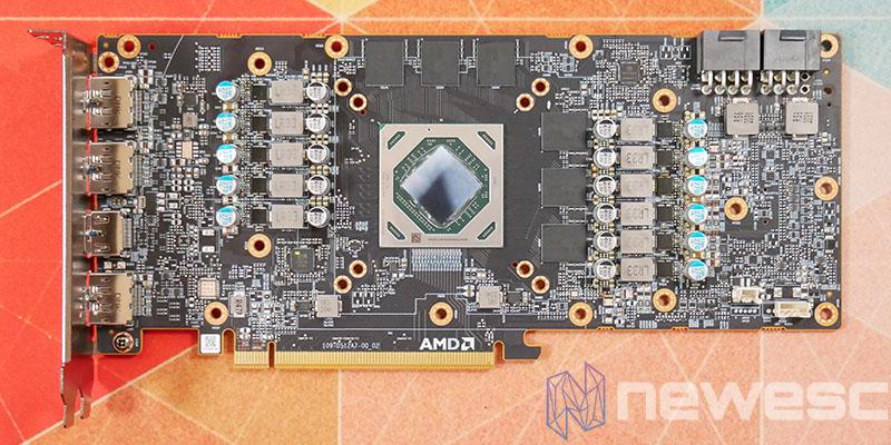 REVIEW AMD RADEON RX 6700 XT PCB DELANTE