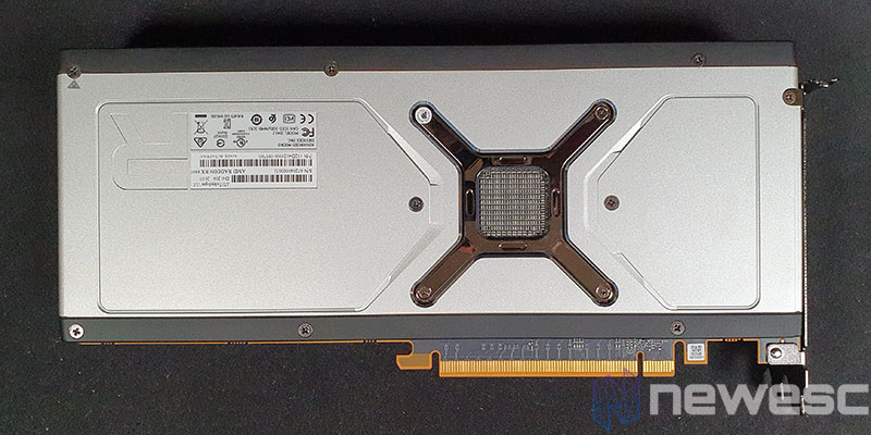 REVIEW AMD RADEON RX 6800 BACKPLATE EXTERNO