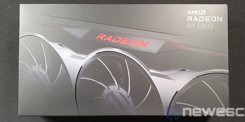 REVIEW AMD RADEON RX 6800 CAJA
