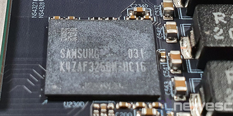 REVIEW AMD RADEON RX 6800 MEMORIAS SAMSUNG