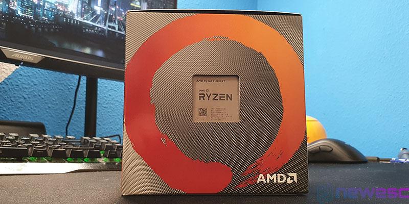 REVIEW AMD RYZEN 3600XT CAJA DELANTE